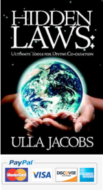 Paypal Payment for Hidden Laws: Ultimate Tools for Divine Co-creation by Ulla Jacobs